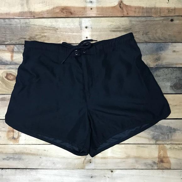 56cea5a201 Women's Catalina Black Swim Board Shorts Sz M 8/10